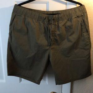 Green shorts